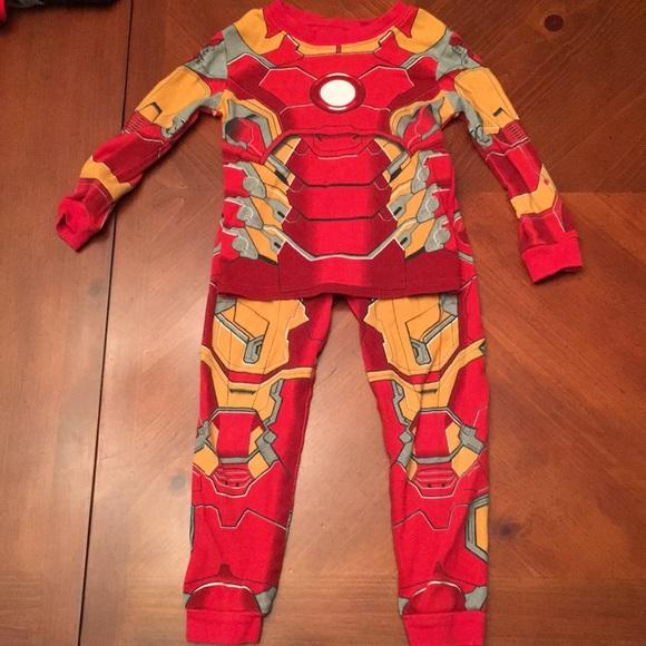 retro highly praised hot products Iron Man Pajamas